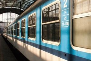 В поезде, Кутна Гора