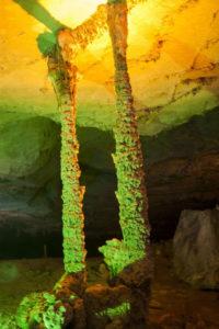 Колонны в пещере Конглор