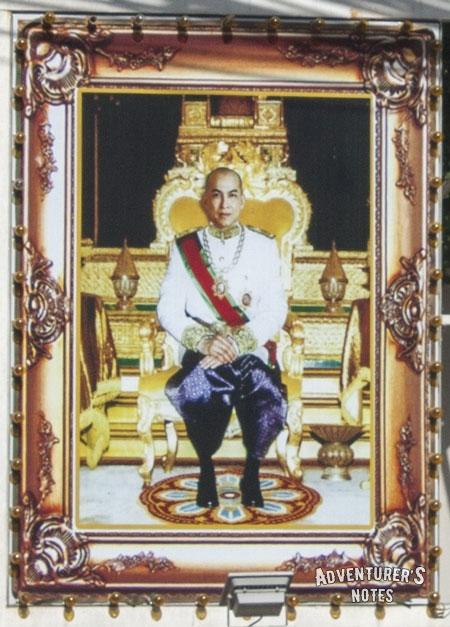 Король Камбоджи Нородом Сиамони