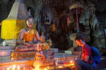 Будда в пещере обезьян