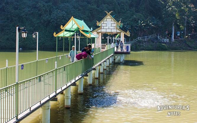 Мост к пещере Tham Sao Hin Payanak