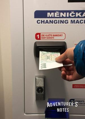 Автомат для размена денег