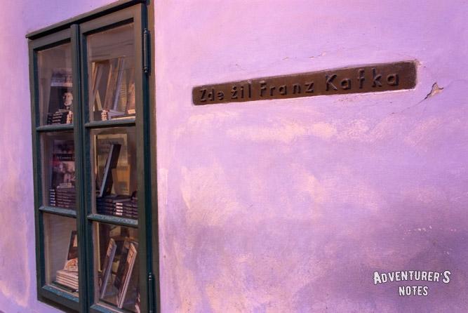 Дом где жил Франц Кафка