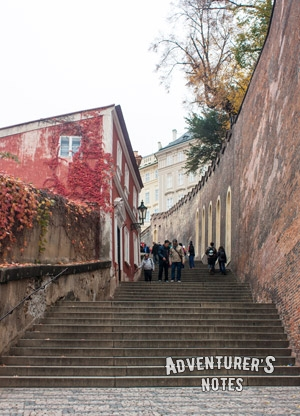 По пути в Пражский Град