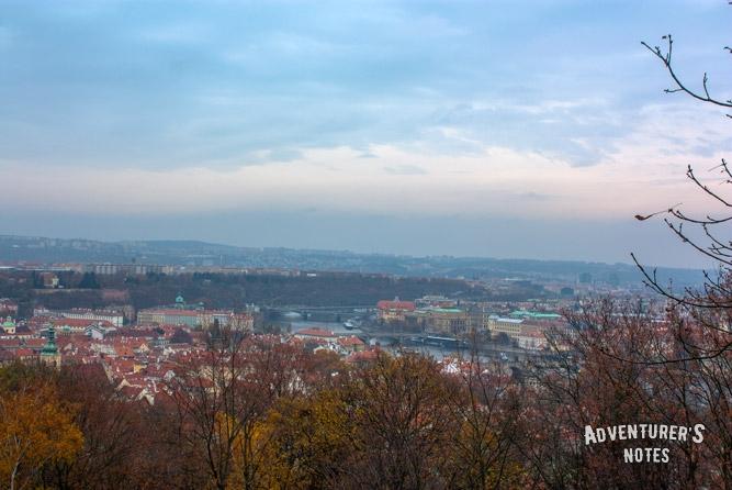 Прага с Петршинского холма
