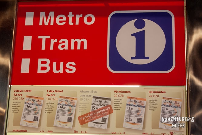 Bus, tram, metro