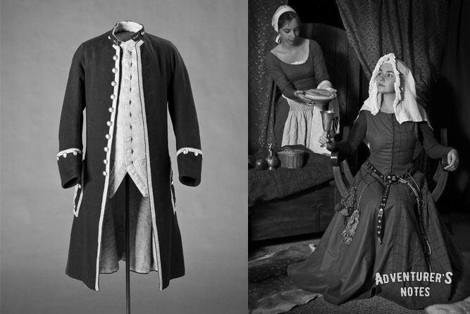 The Royal Family. Clothes example