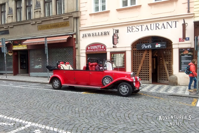 On the Prague streets