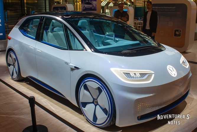 The electric car of the future Volkswagen