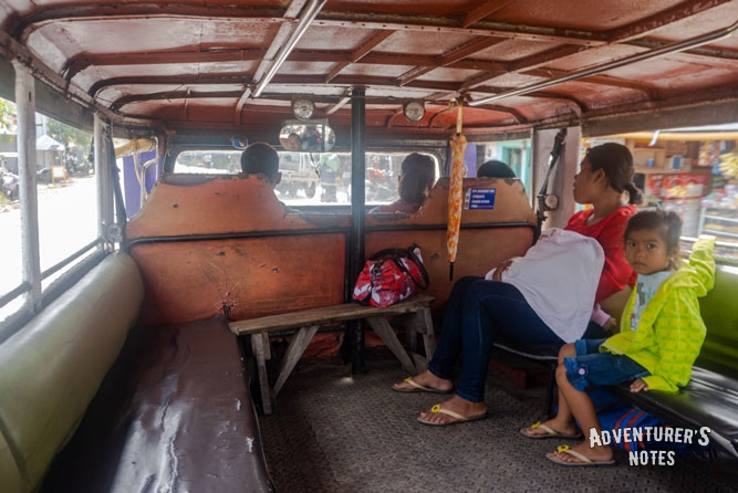 Jeepney to Bulwang Caves