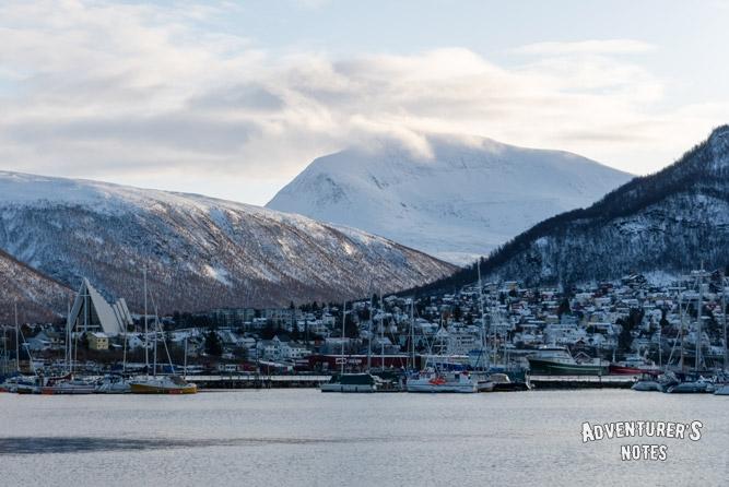 Гора Tromsdalstinden