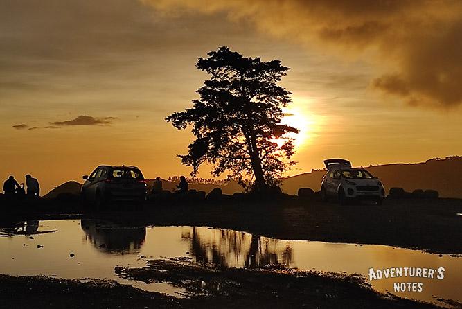 Закат. Монтеверде. Коста-Рика